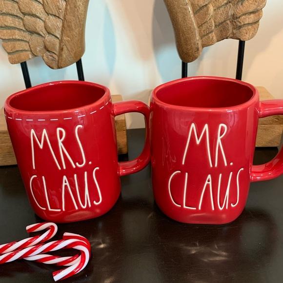 Rae Dunn MRS. CLAUS & MR. CLAUS